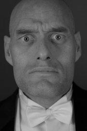 """Butlern """"Max"""" i """"Sunset Boulevard"""". Kort teaterscen för Filminstitutet på Filmhuset 2010."""