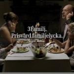 """TV-reklam för """"3""""."""